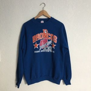 86' Vintage Denver Broncos Sweatshirt
